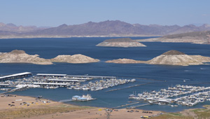 Photo of lake mead marina complex