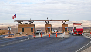 Photo of lake mead entrance station