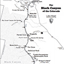 Photo of black canyon map
