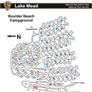 Photo of boulder beach campground map
