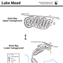 Photo of echo bay campground map