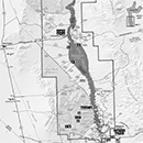 Photo of lake mohave area map