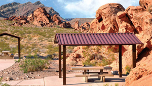 Photo of redstone picnic area
