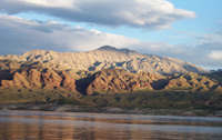 A view of mountains within a Lake Mead National Recreation Area wilderness site