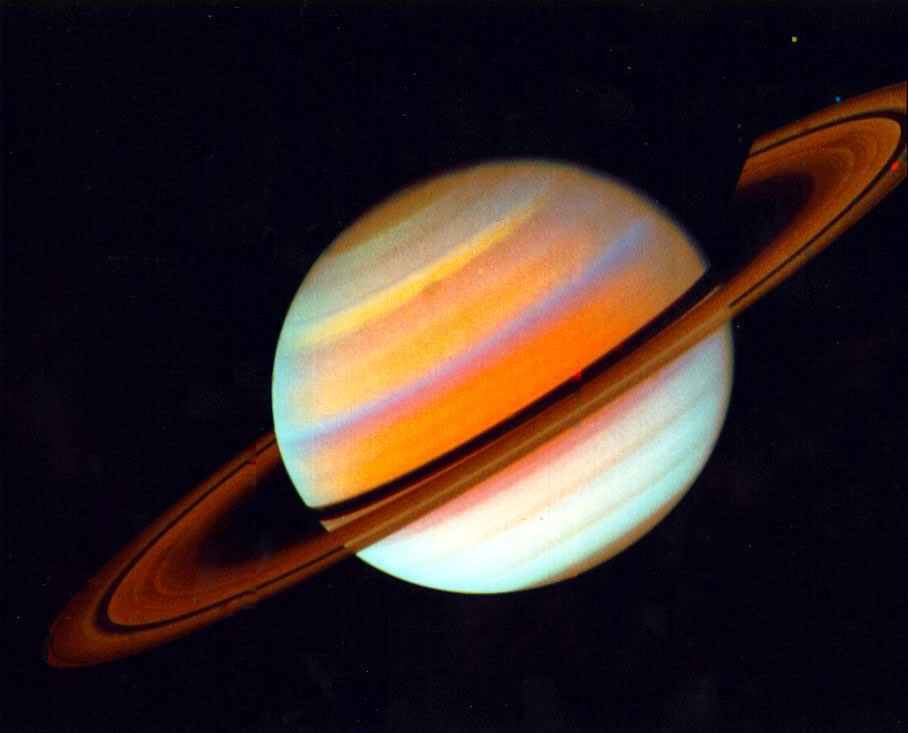 Image of the planet Saturn