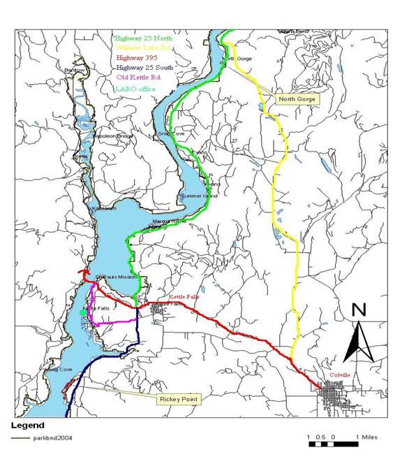 lake roosevelt washington map Fire Management Lake Roosevelt National Recreation Area U S lake roosevelt washington map