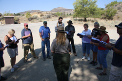 Teacher training at Spring Canyon - T. Stellhorn/NPS