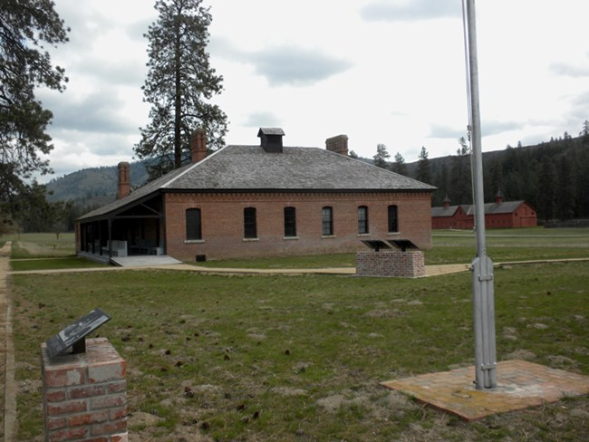 Fort Spokane Visitor Center and Museum