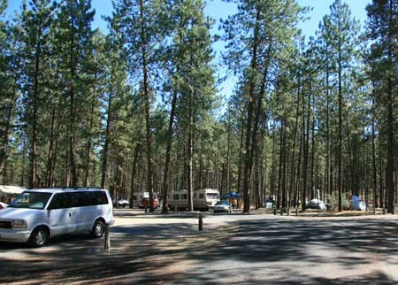 Campgrounds Lake Roosevelt National Recreation Area U S