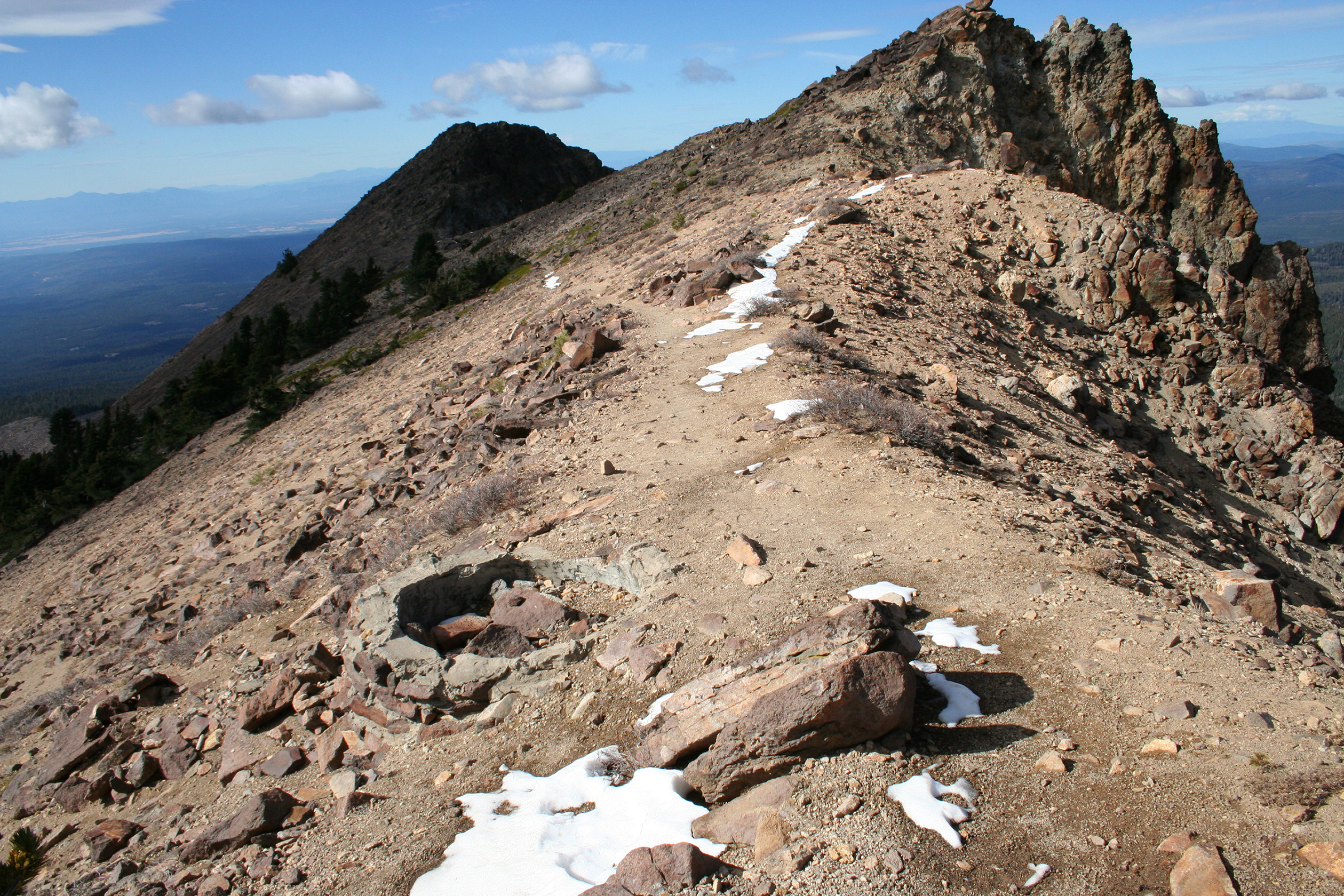 Lassen Peak Trail near summit.