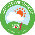 Let's Move Outside logo