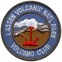 Volcano Club patch