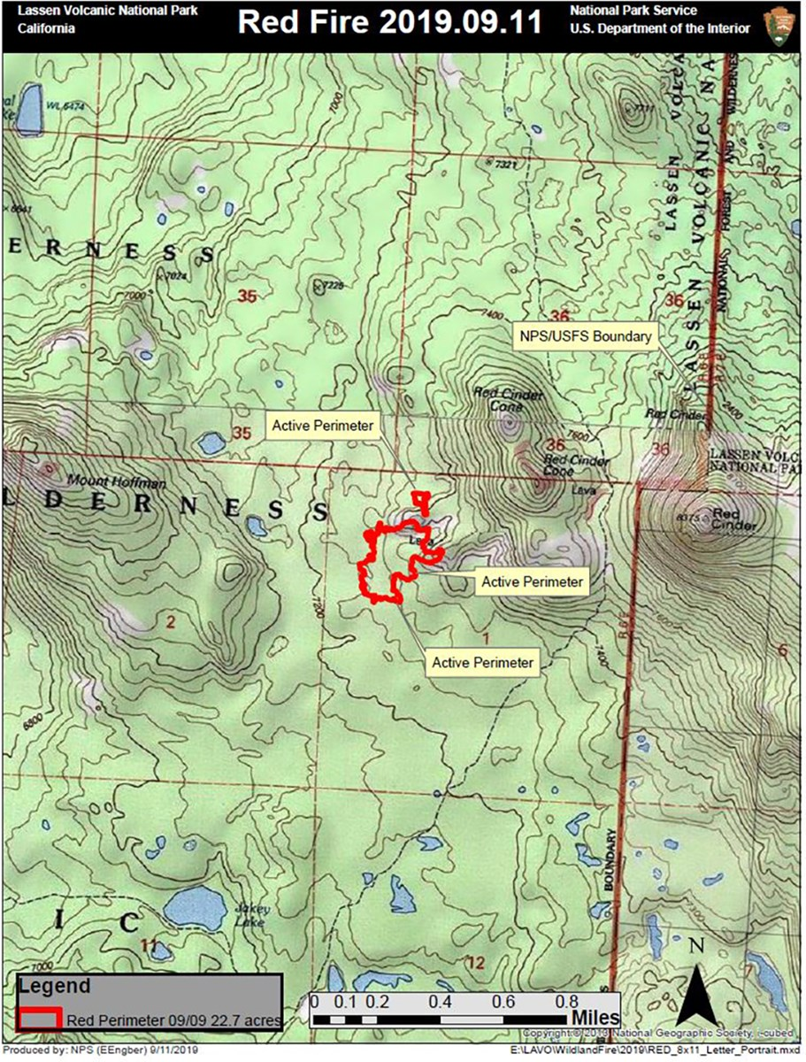 Current Fire Activity - Len Volcanic National Park (U.S. ... on current california earthquake map, current california highways map, current california drought map,