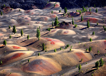 Painted Dunes from atop Cinder Cone