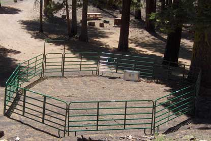 Butte Lake stock corral