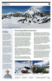 Cover of winter newspaper