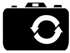 Repeat photography icon