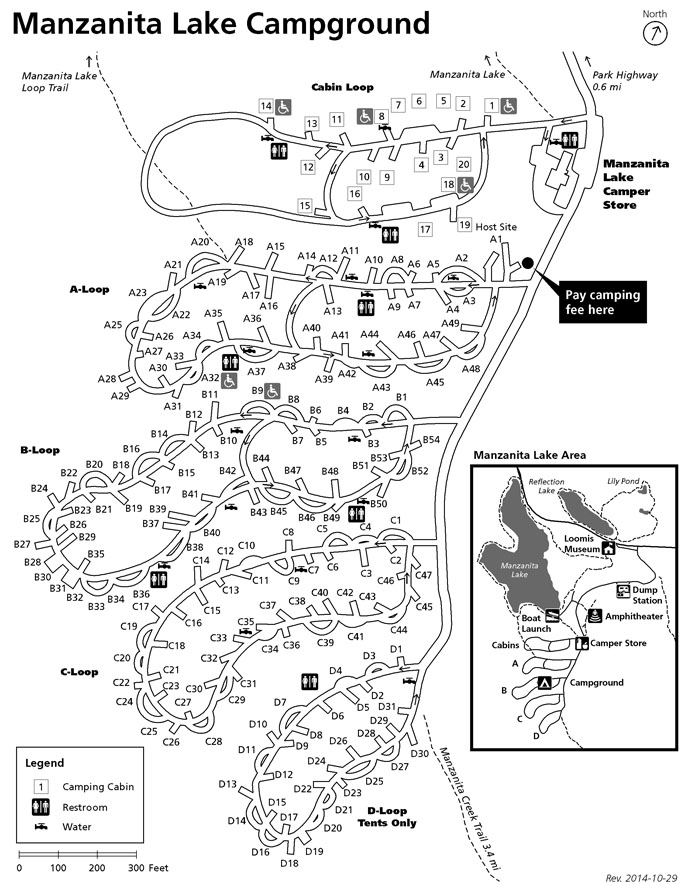 Image Result For Lassen Volcanic National Park Map