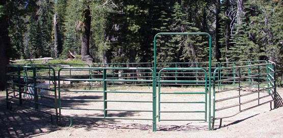 Summit Lake stock corral