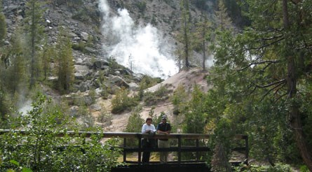 Hiking The Devils Kitchen Trail Lassen Volcanic National Park U S National Park Service