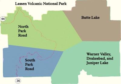 Hiking Lassen Volcanic National Park US National Park Service - Us hiking trails map