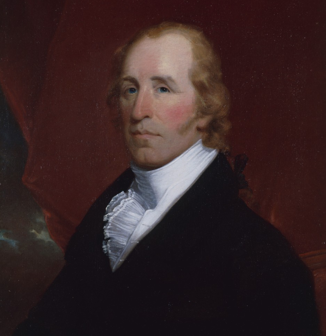 Oil painting of William Clark