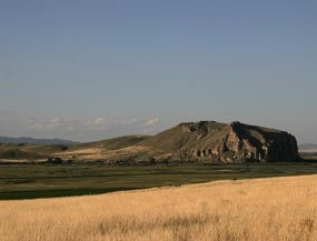 Beaverhead Rock near Dillon, MT.