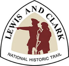 Certification logo for Lewis and Clark NHT.