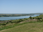 view of missouri river in chamberlain south dakota