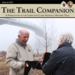 cover photo of Trail Companion February 2013 issue