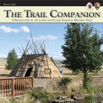 photo of a tule lodge located at the living history village of Tamastslikt Cultural Institute, Pendleton, Oregon