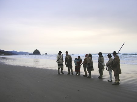 Corps at Cannon Beach