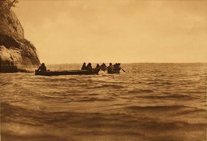 The Lower Columbia Photograph by Edward S. Curtis, 1910