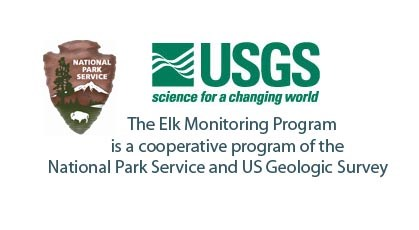 Elk Monitoring Program is a cooperative project of the National Park Service and US Geological Survey