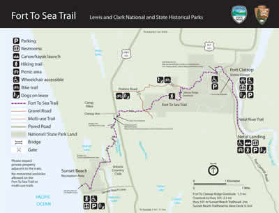 Image result for lewis and clark slough trail map