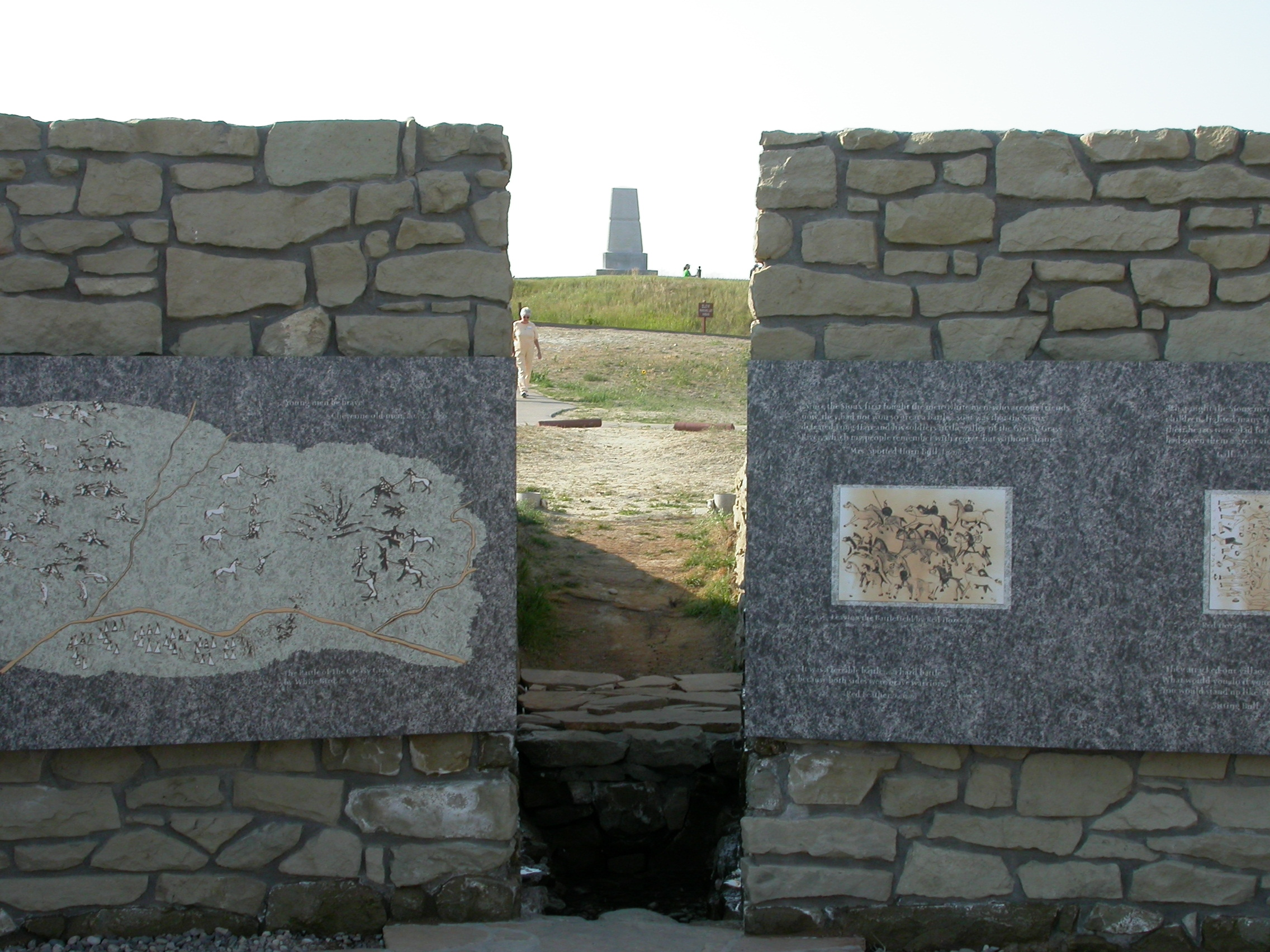 Indian Memorial Spirit Gate