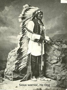 He Dog fought at Little Bighorn
