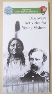 Front cover of the discover activities for young visitors.