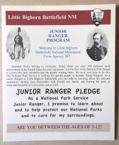 Junior Range pledge for kids between the ages of 5 and 12.