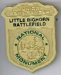 Little Bighorn Battlefield NM badge