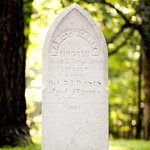 Grave of Nancy Hanks Lincoln, Abraham Lincoln's mother