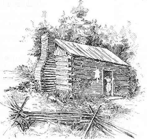 abe-lincoln-log-cabin