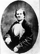 Abraham's father, Thomas Lincoln