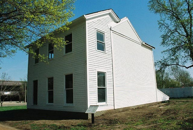 Morse House prior to restoration