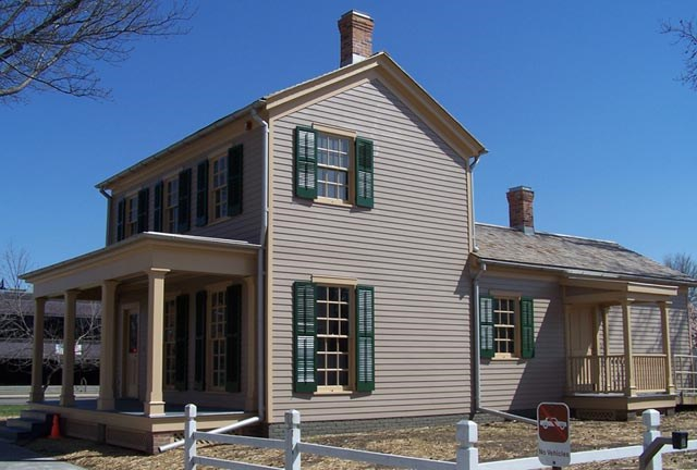 Morse House after restoration
