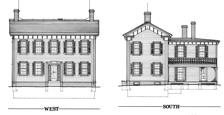Free home plans italianate home plans for Historic italianate floor plans