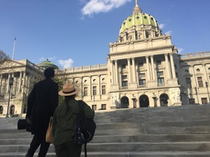 Lincoln-and-Park-Ranger-at-Pennsylvania-State-Capitol-for-web