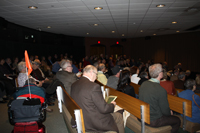 George L. Painter Looking for Lincoln Lectures audience