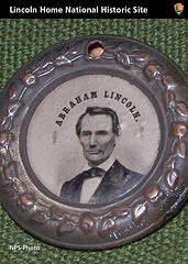 1860 US Presidential Election Campaign Button