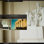 Lincoln Memorial Interactive site